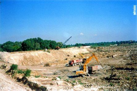 Smelmamento vasche di decantazione zuccherificio SFIR di Forlimpopoli (FC)