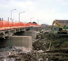 Demolizione Ponte S.S. 253 - Sesto Imolese (BO)