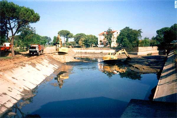 Smelmamento Bacino Idrovoro - Fosso Ghiaia